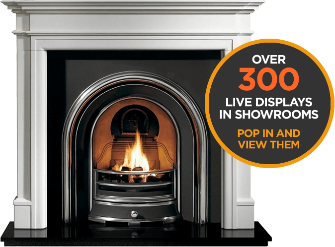 Over 300 Live Displays in showrooms