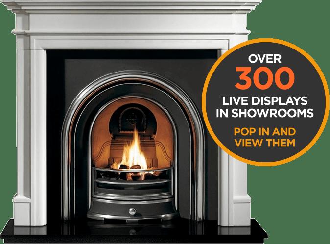 Over 300 Live Displays in showrooms